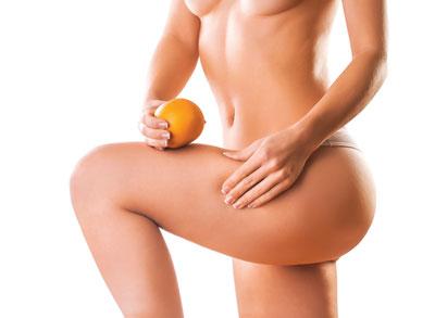 Pelle a buccia d'arancia e antiestetici cuscinetti di grasso